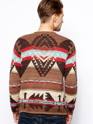 Denim & Supply Ralph Lauren Tribal Jumper