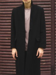 Black One Board Overcoat