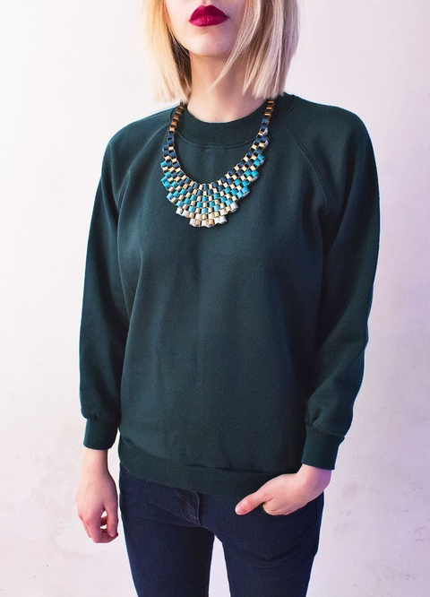 Dark Green Sweatshirt