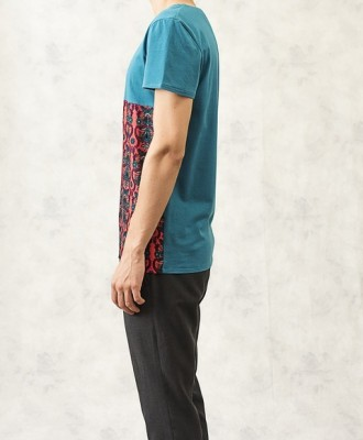 Turquoise Pattern T-Shirt